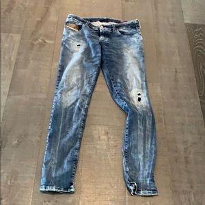 DIESEL DENIM SWEAT PANTS JEANS STYLE GRUPEE 31